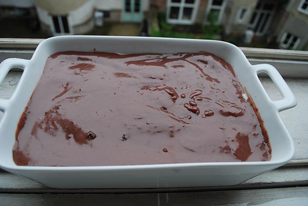 Butterkeks-Pudding Kuchen