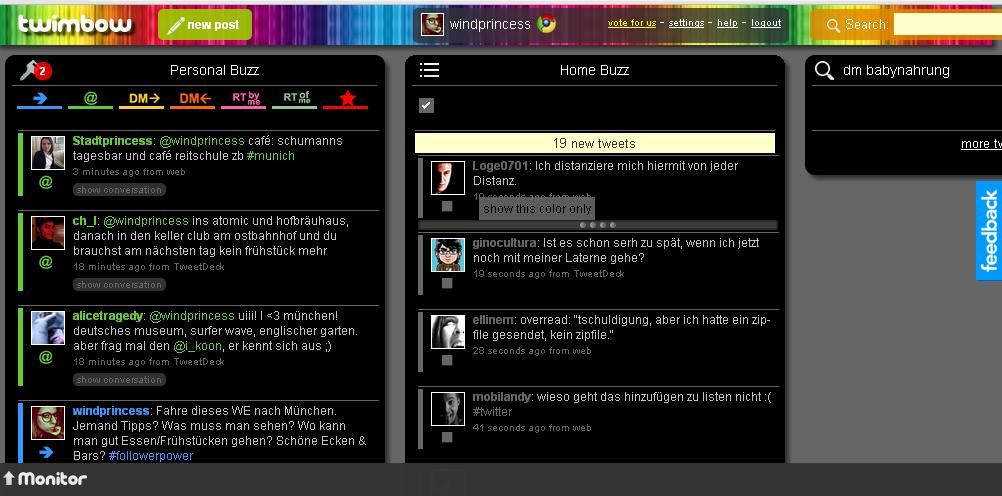 twimbow screenshot