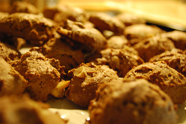 Schoko-Paranuss-Kekse