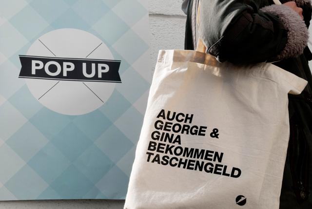 POP-UP Stofftasche