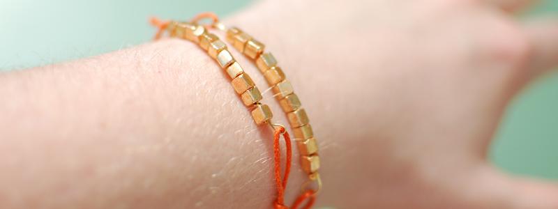 DIY Armband mit Perlen