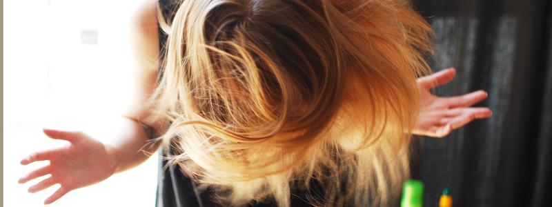 Haarpflegeroutine