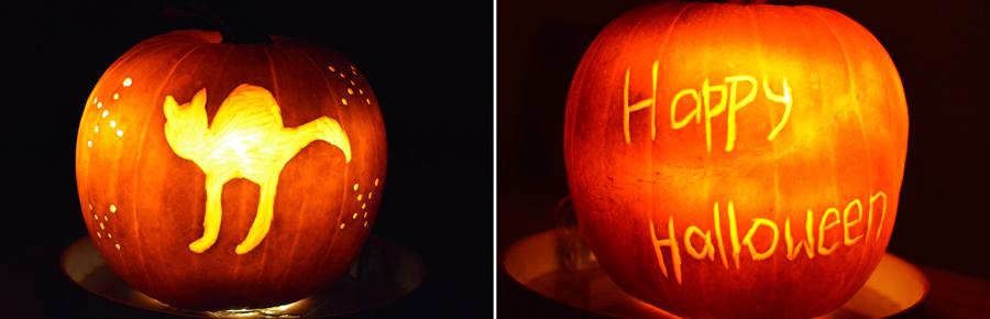 Halloween - Kürbisschnitzen