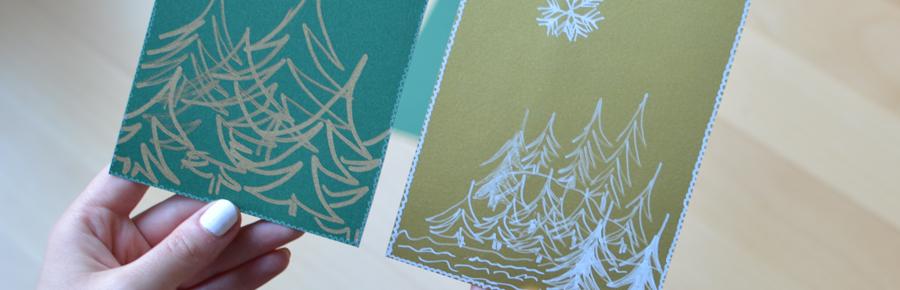 22 t rchen weihnachtskarten diy pixi mit milch. Black Bedroom Furniture Sets. Home Design Ideas