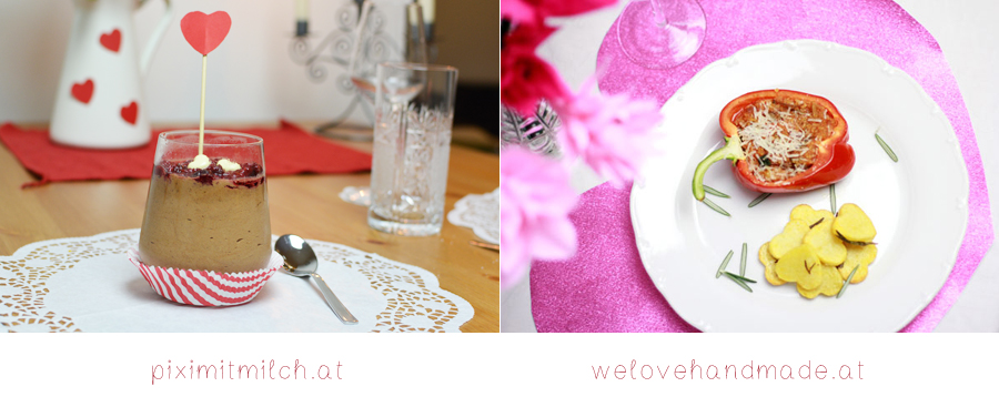 Valentinstag Dinner | Pixi mit Milch