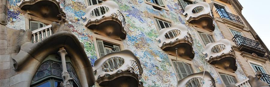 Architektur in Barcelona | Pixi mit Milch