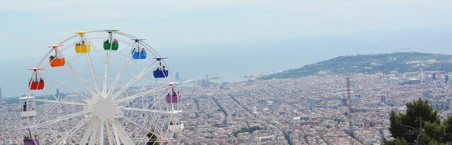 Tibidabo in Barcelona | Pixi mit Milch