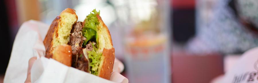 Burger-Test im Burger de Ville | Pixi mit Milch