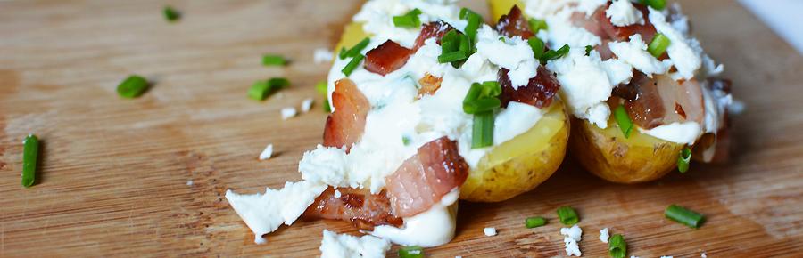Rezept für Ofenkartoffeln | Pixi mit Milch