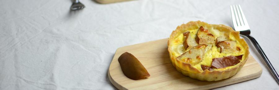 Camembert-Birnen-Tartelettes  Pixi mit Milch