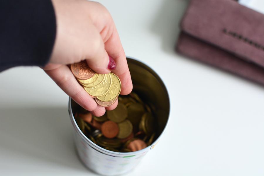Geld sparen |Pixi mit Milch