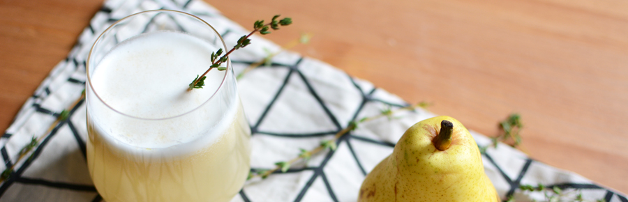 Thyme-Pear-Cocktail |Pixi mit Milch