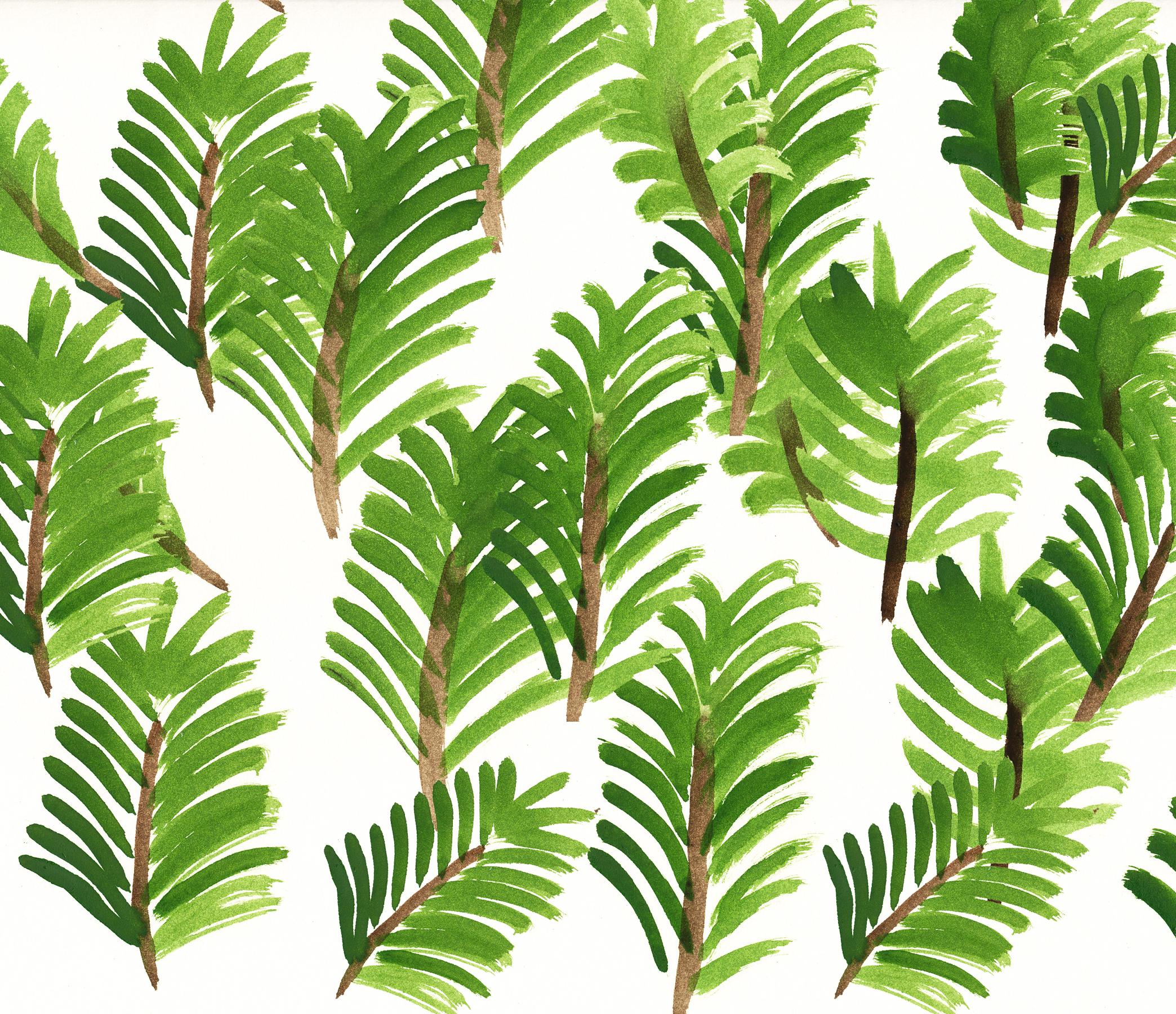 Design pflanzen wallpaper f r mai pixi mit milch for Design pflanzen
