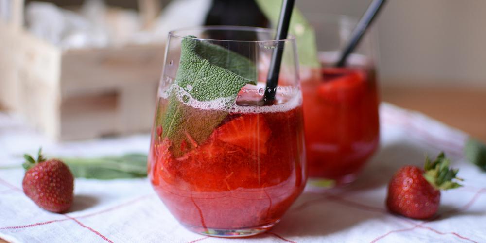 Strawberry-Fizz |Pixi mit Milch