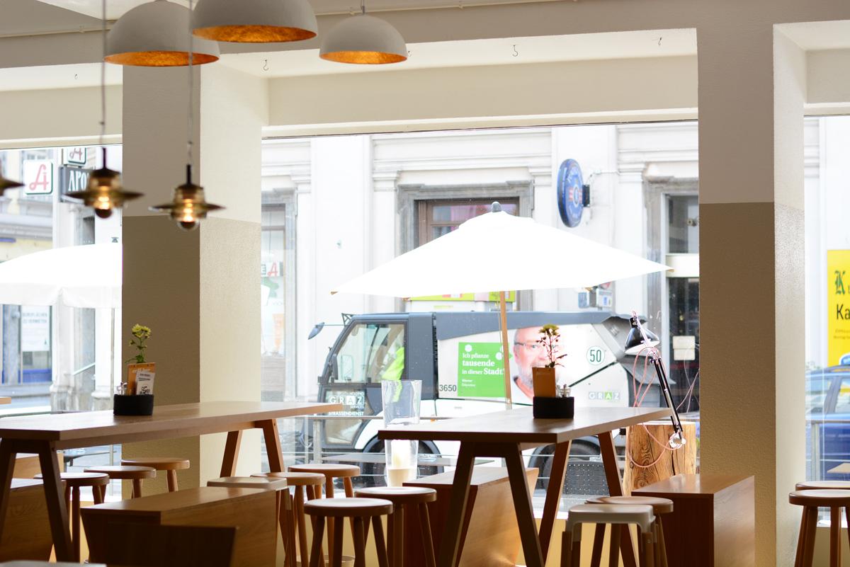 Mangolds Lokal Graz | Pixi mit Milch