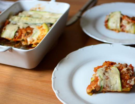 vegane Kürbis-Lasagne | Pixi mit Milch