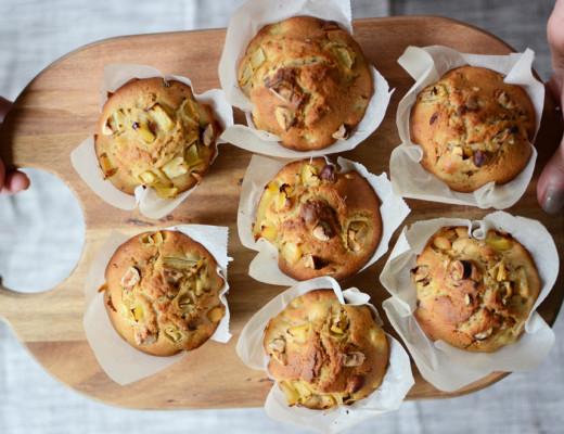 Frühstücksmuffins Rezept | Pixi mit Milch