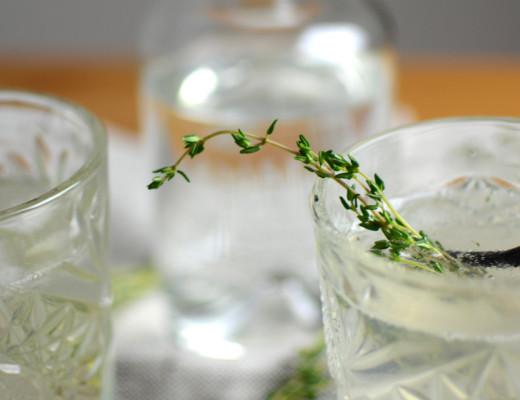 Gin-Thyme Drink |Pixi mit Milch