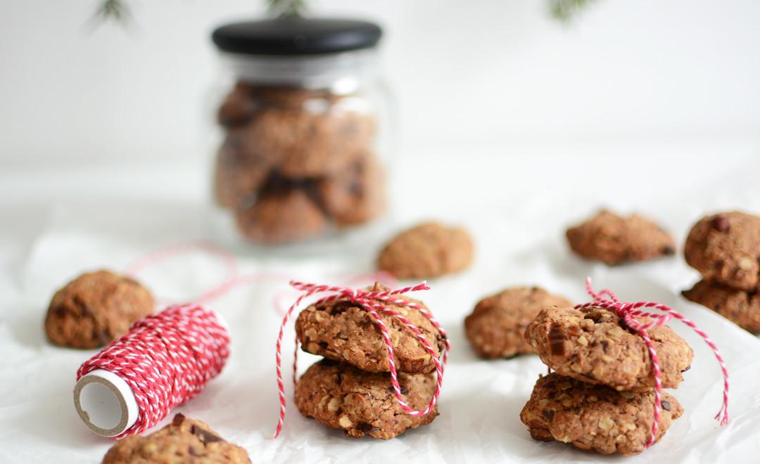 Zimt-Haferflocken-Cookies | Pixi mit Milch
