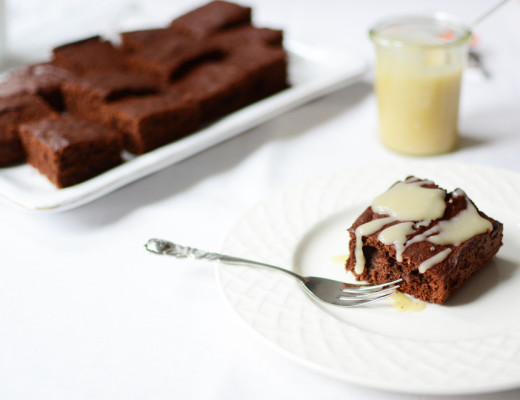 Salted-Caramel-Brownies |Pixi mit Milch