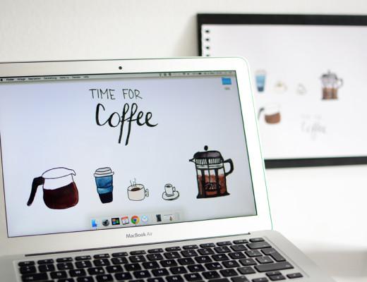 Coffe-Wallpaper |Pixi mit Milch