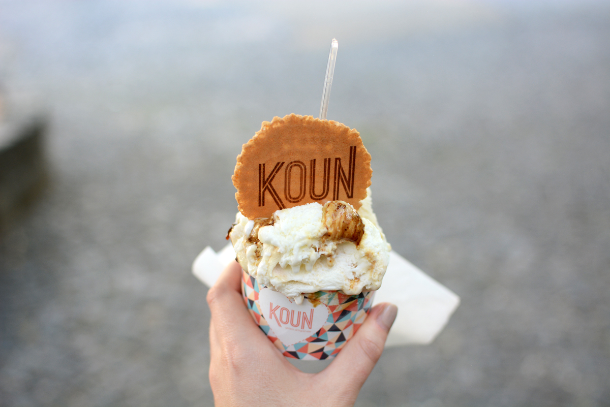 Koun Bratislava |Pixi mit Milch