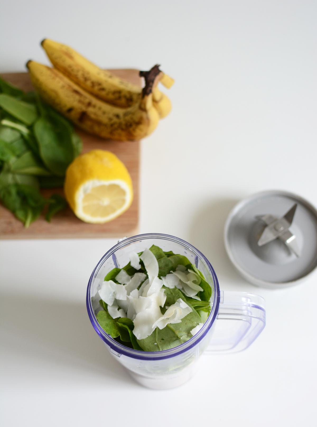 Green Banana Smoothie | Pixi mit Milch