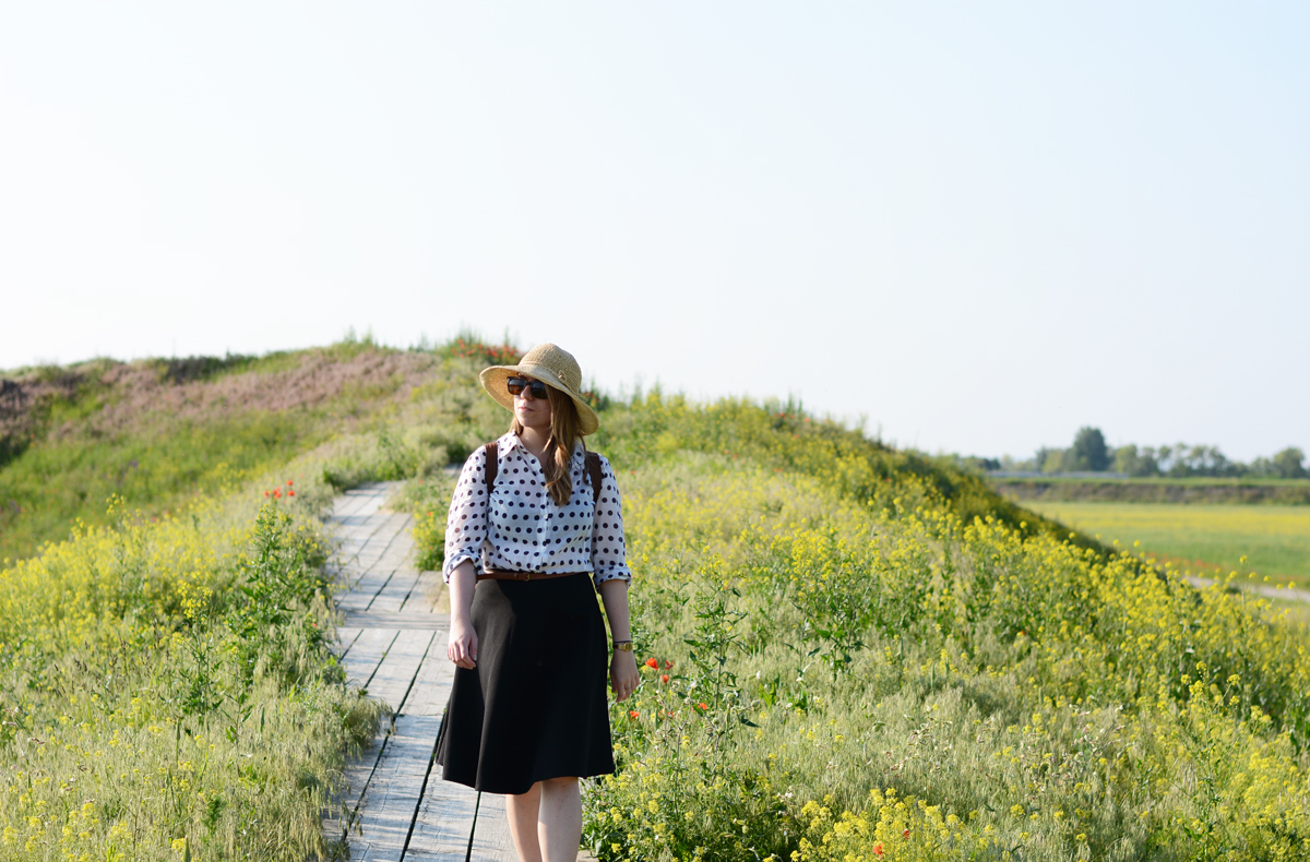 Seestadt: Vintage-Outfit-Summer | PiximitMilch