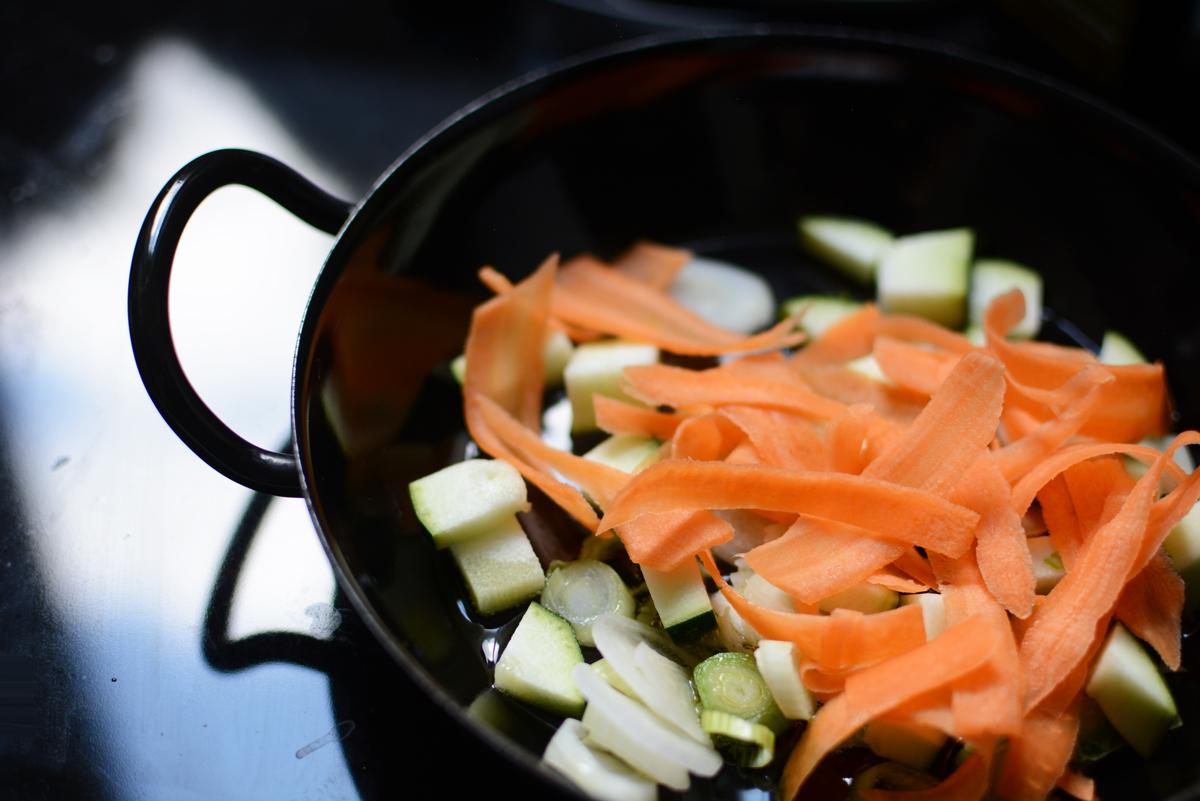Frittata Gemüse | Pixi mit Milch