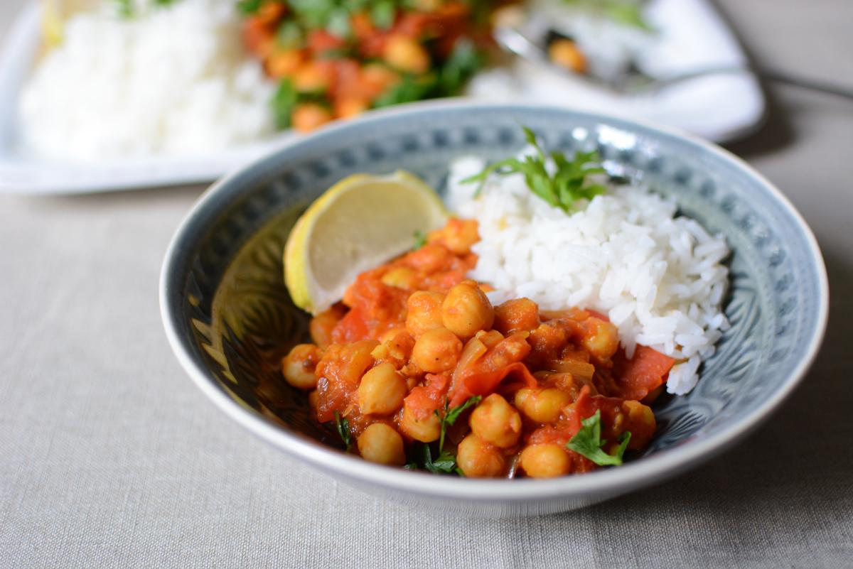 Kichererbsen-Curry Rezept | Pixi mit Milch