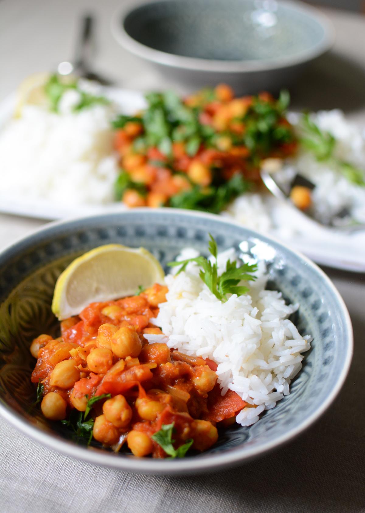 Kichererbsen-Curry | Pixi mit Milch