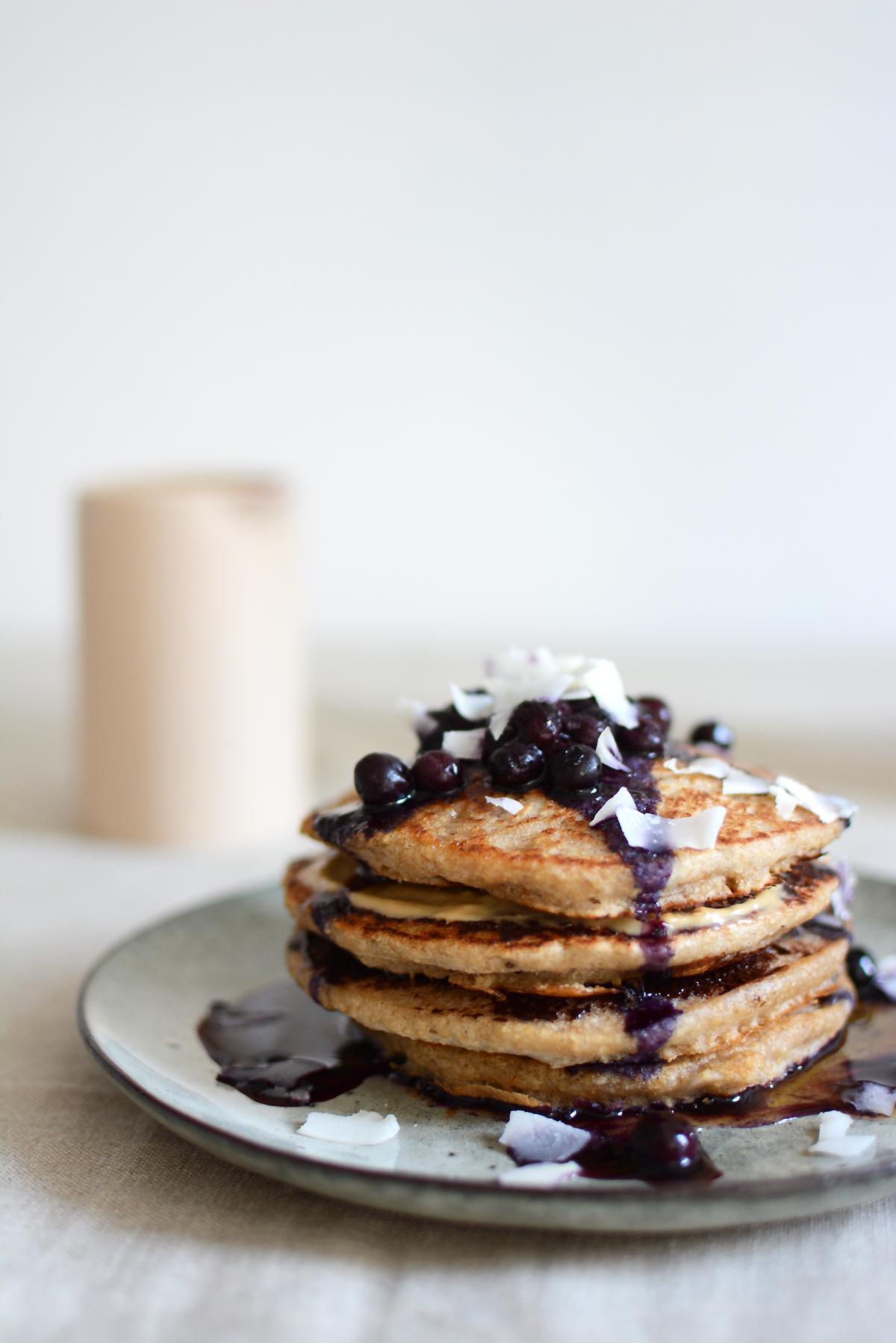 rezept: Kokos-Pancakes |Pixi mit Milch