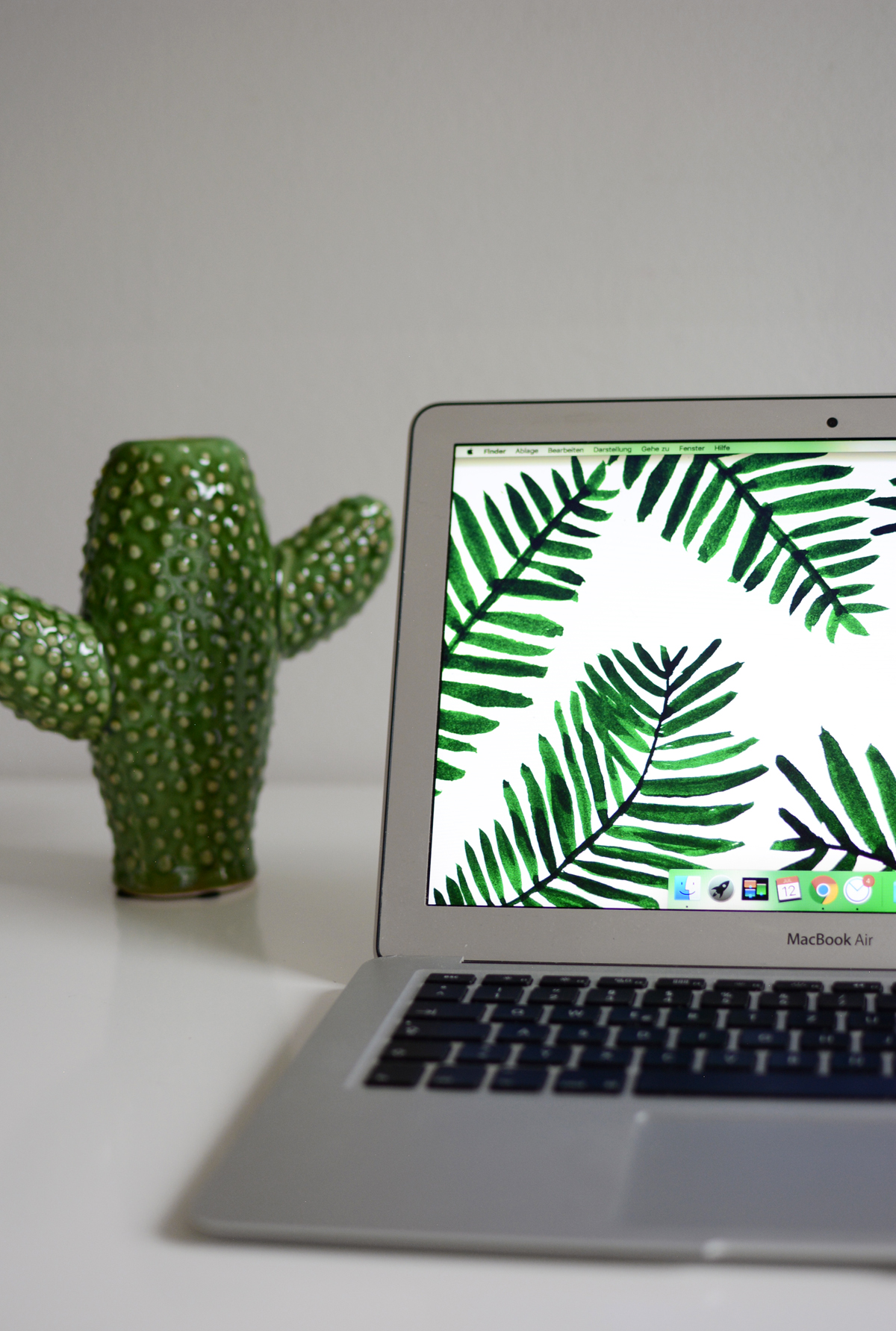 Palm Leaves Screensaver | Pixi mit Milch