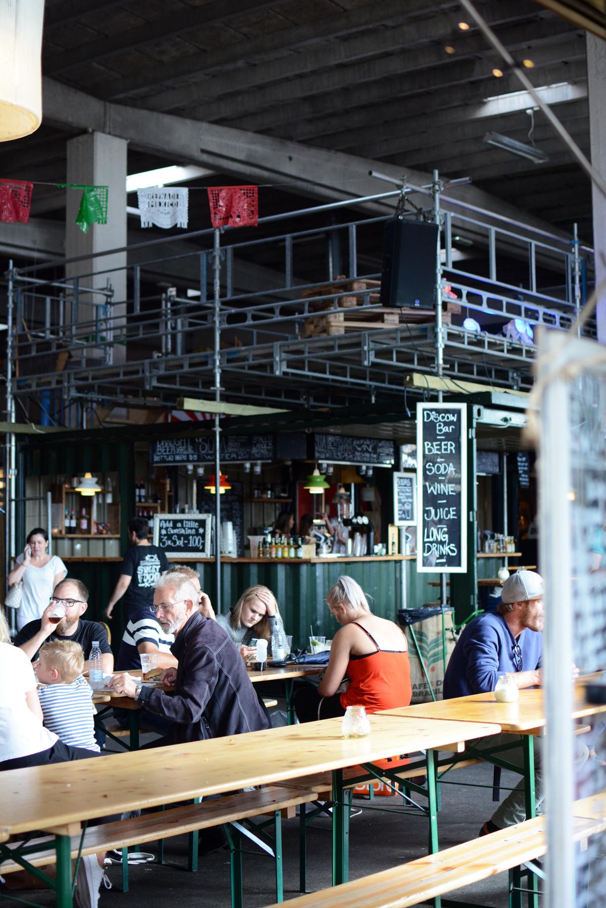 Copenhagen Street Food Halle  Pixi mit Milch