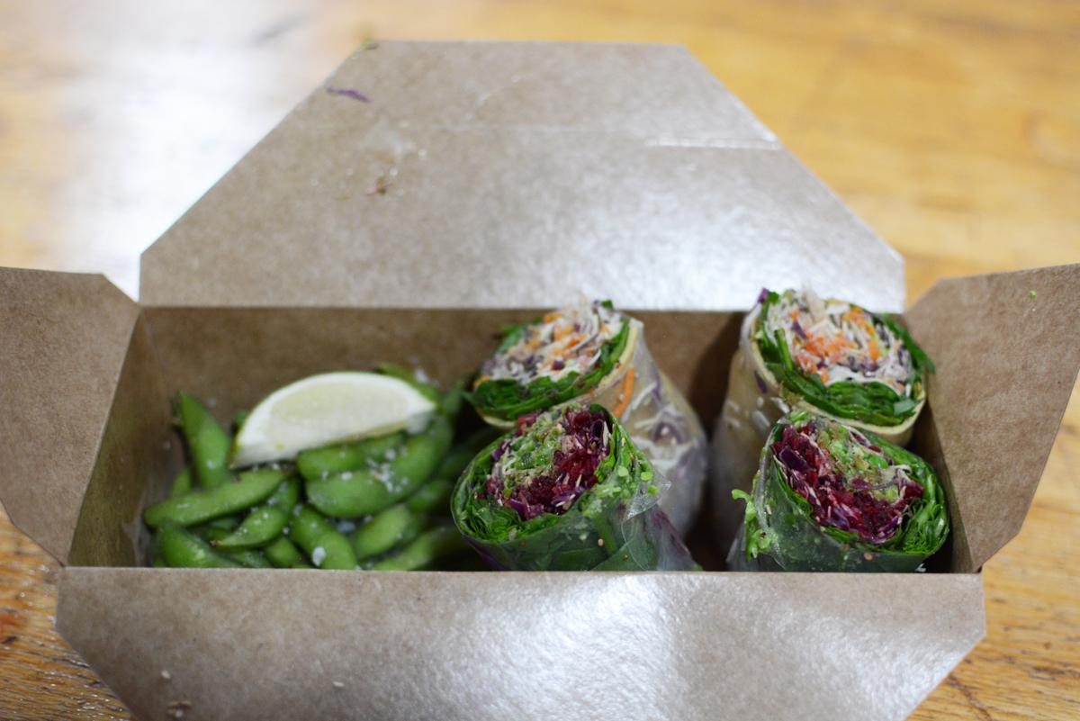 Copenhagen Street Food: Summer Rolls  Pixi mit Milch