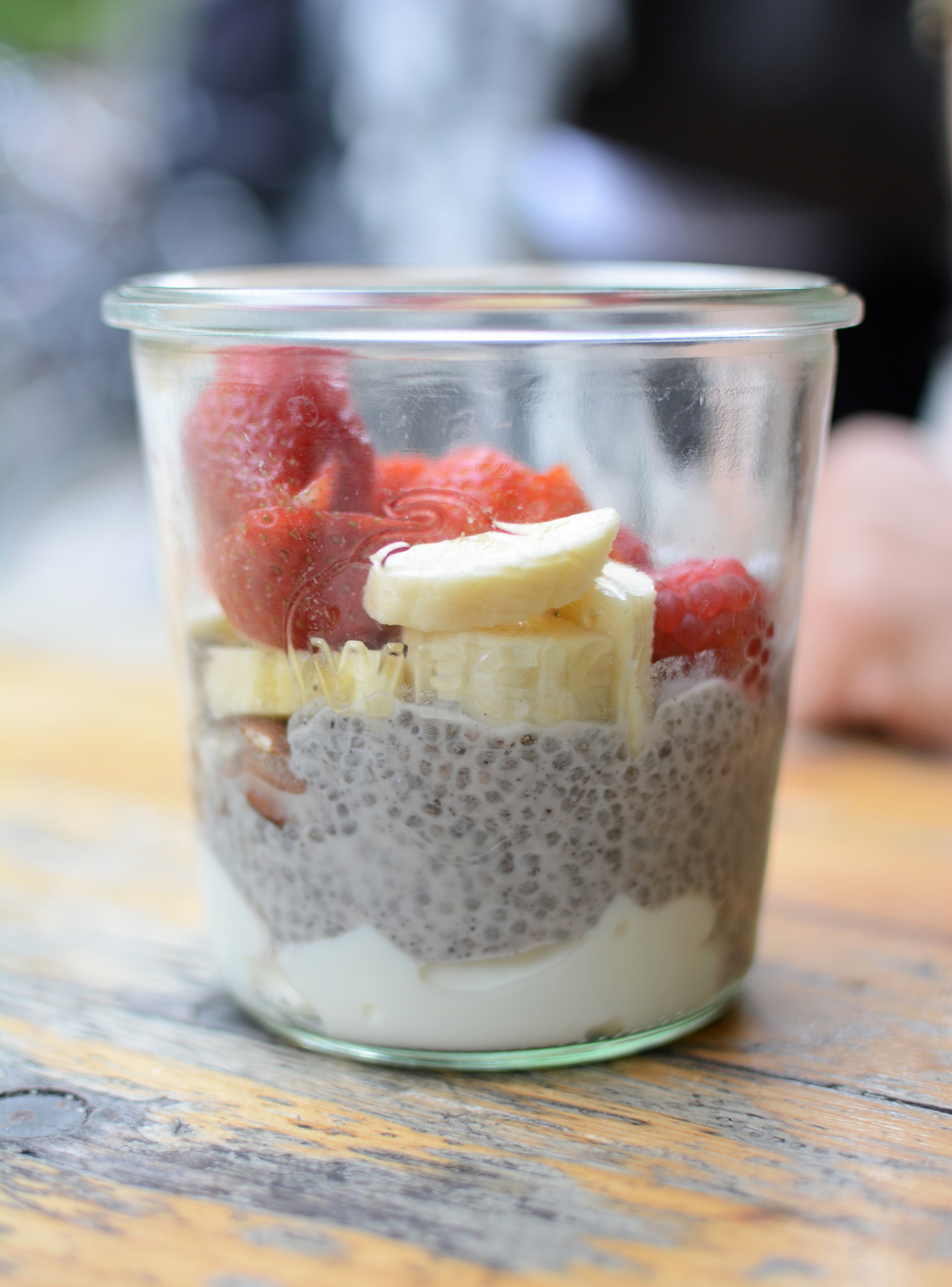 Grod Chia Pudding |Pixi mit Milch
