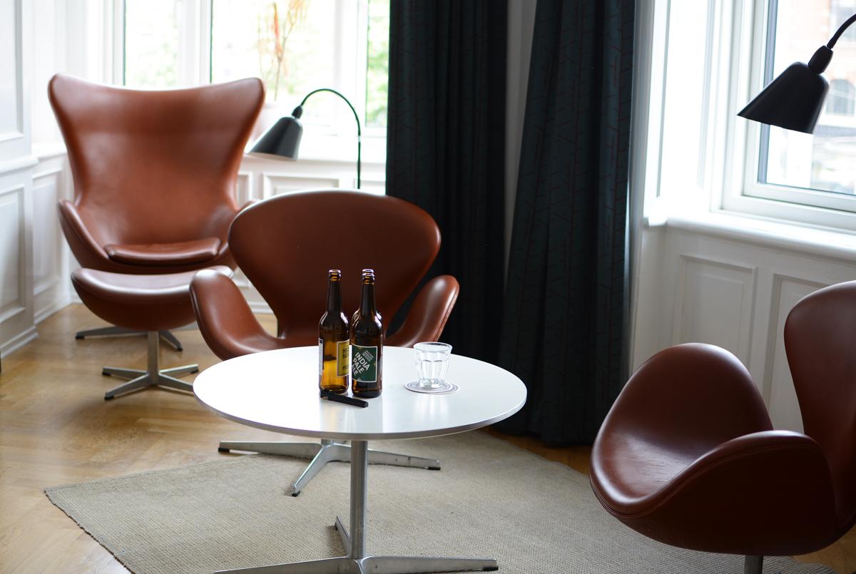 Hotel Alexandra: Arne Jacobsen Room | Pixi mit Milch