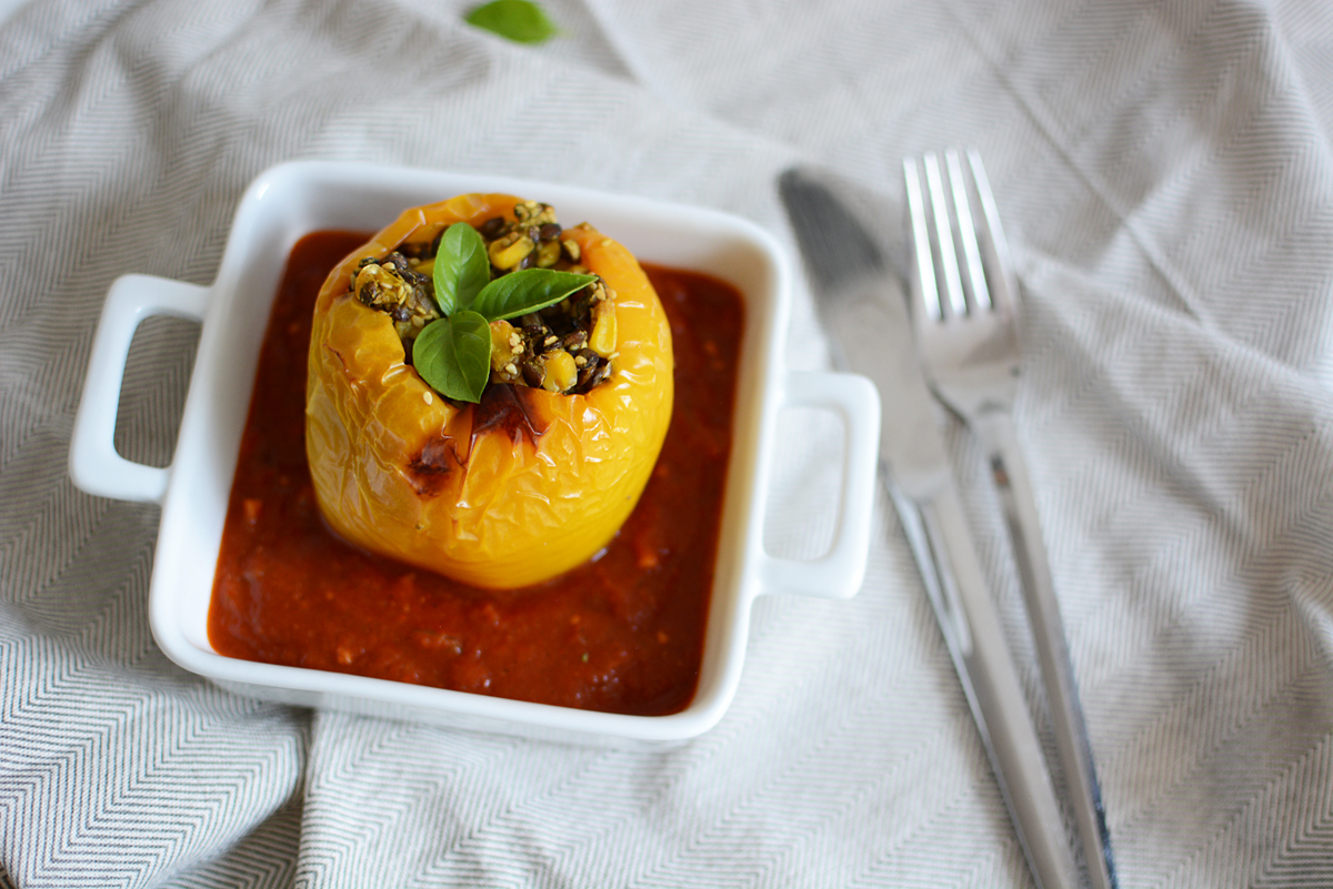 Stuffed Peppers   Pixi mit Milch