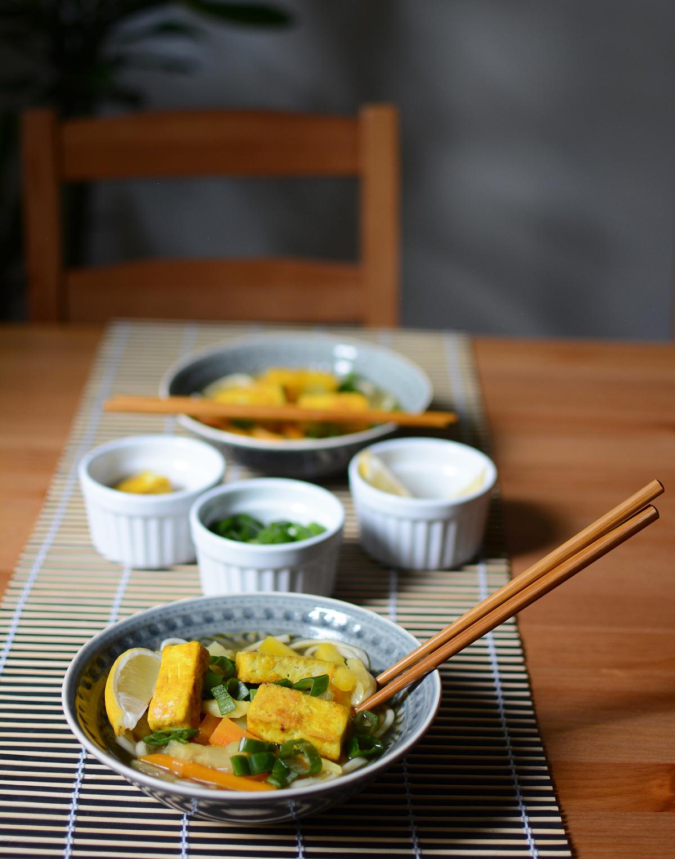 asiatische nudelsuppe mit tofu | pixi mit milch