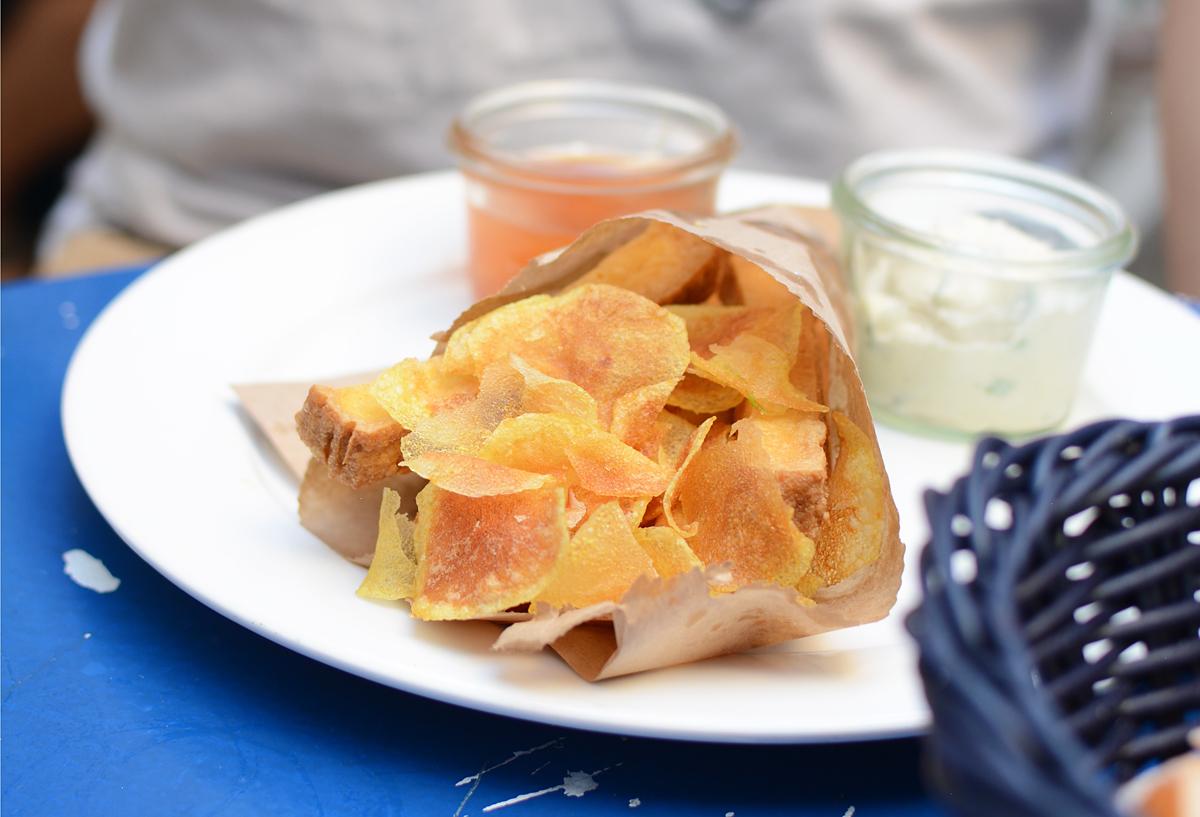 Das Augustin: Chips |Pixi mit Milch