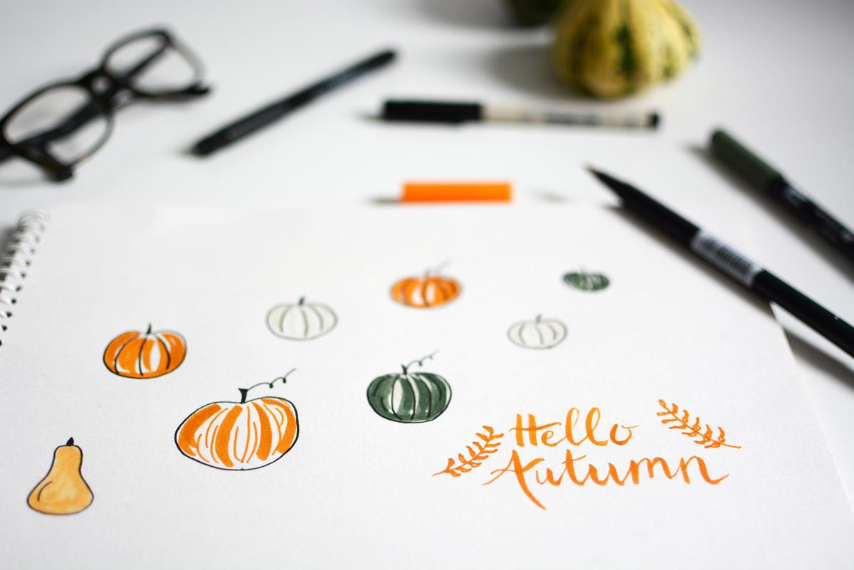 hello autumn wallpaper   pixi mit milch