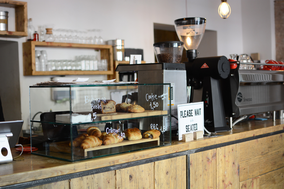 Silo Coffee in Berlin | Pixi mit Milch