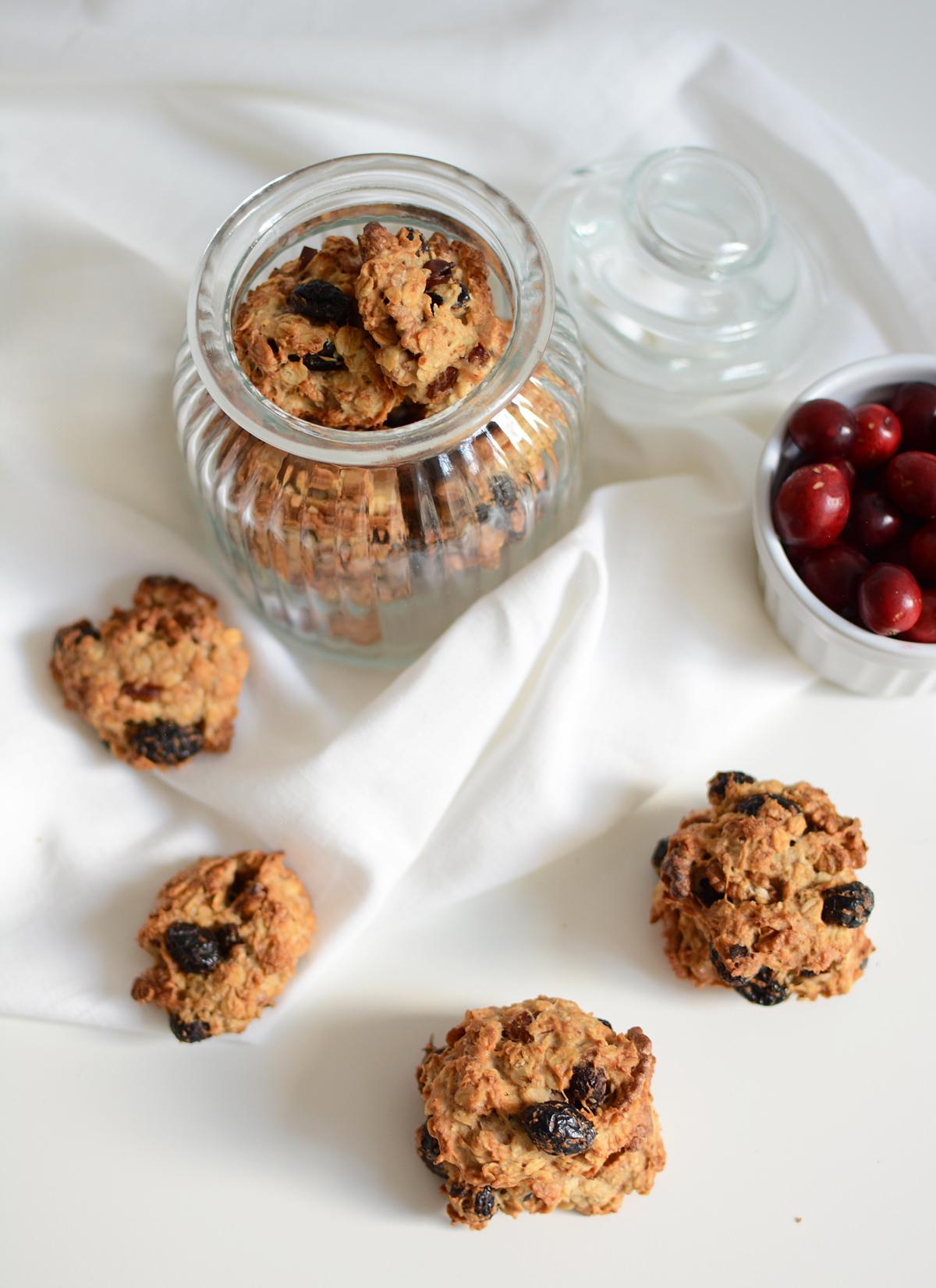 Cranberry-Cookies: Rezept | Pixi mit Milch