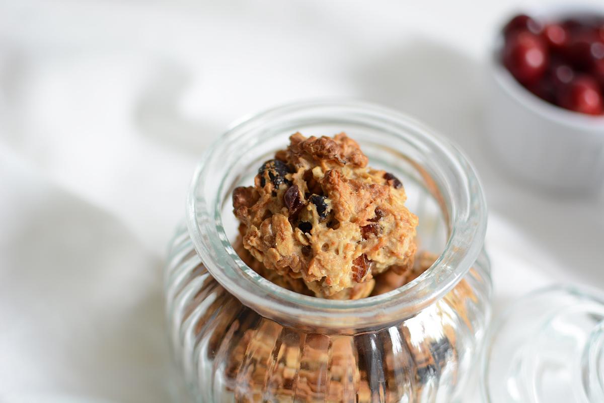 Cranberry-Haferflocken-Cookies | Pixi mit Milch