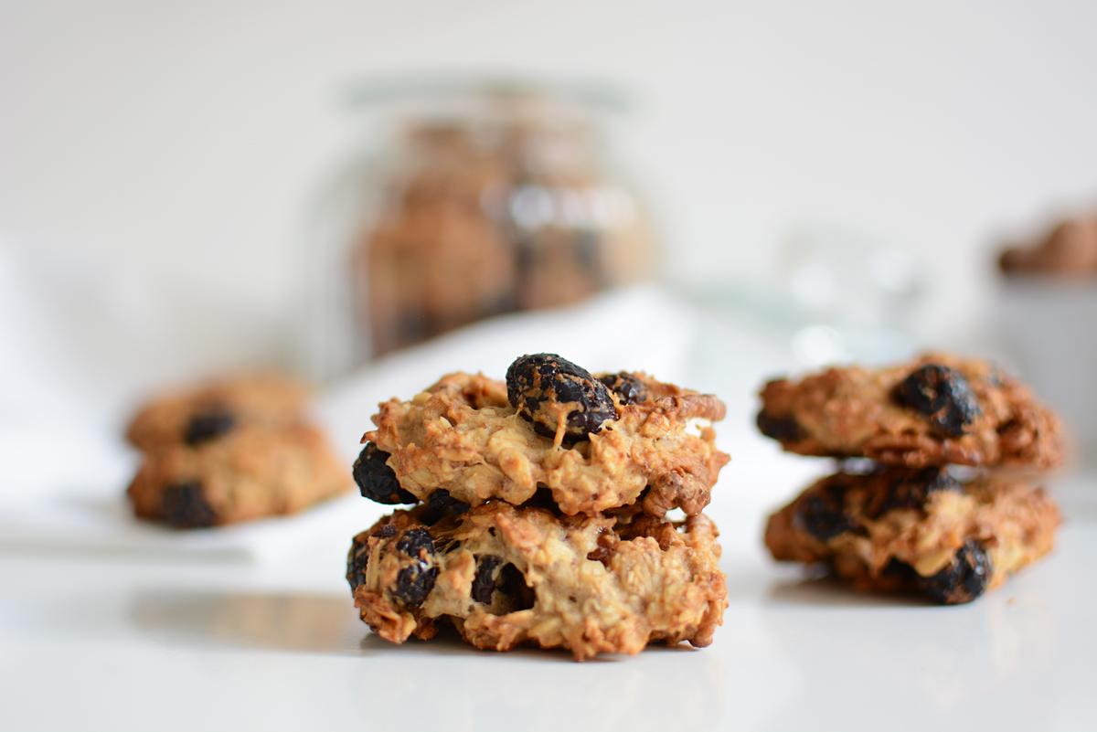 Cranberry-Walnuss-Cookies | Pixi mit Milch
