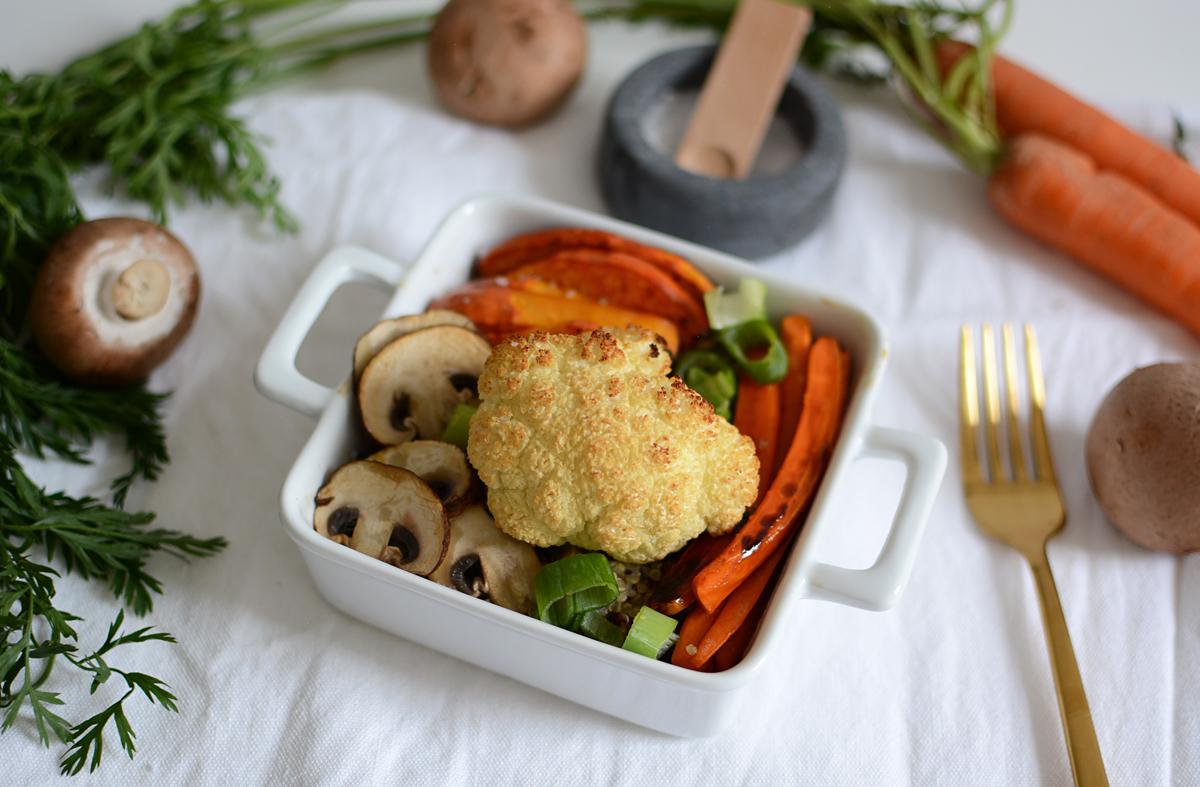 Herbstliche Quinoa-Bowl: Recipe | pixi mit milch