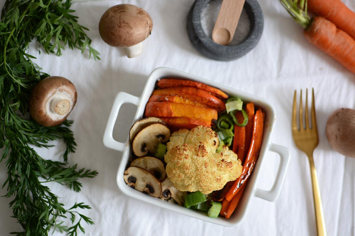Herbstliche Quinoa-Bowl | Pixi mit Milch