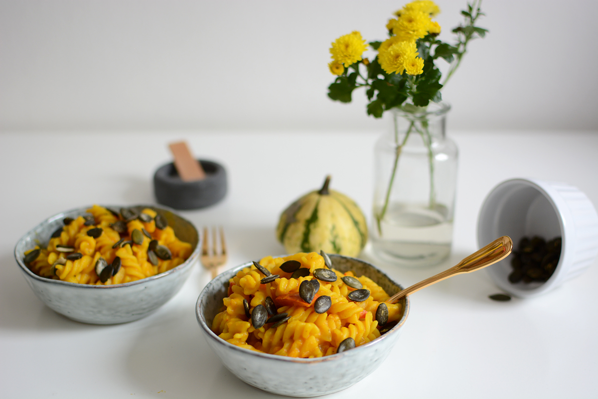 One Pot Pumpkin Pasta Recipe |Pixi mit Milch