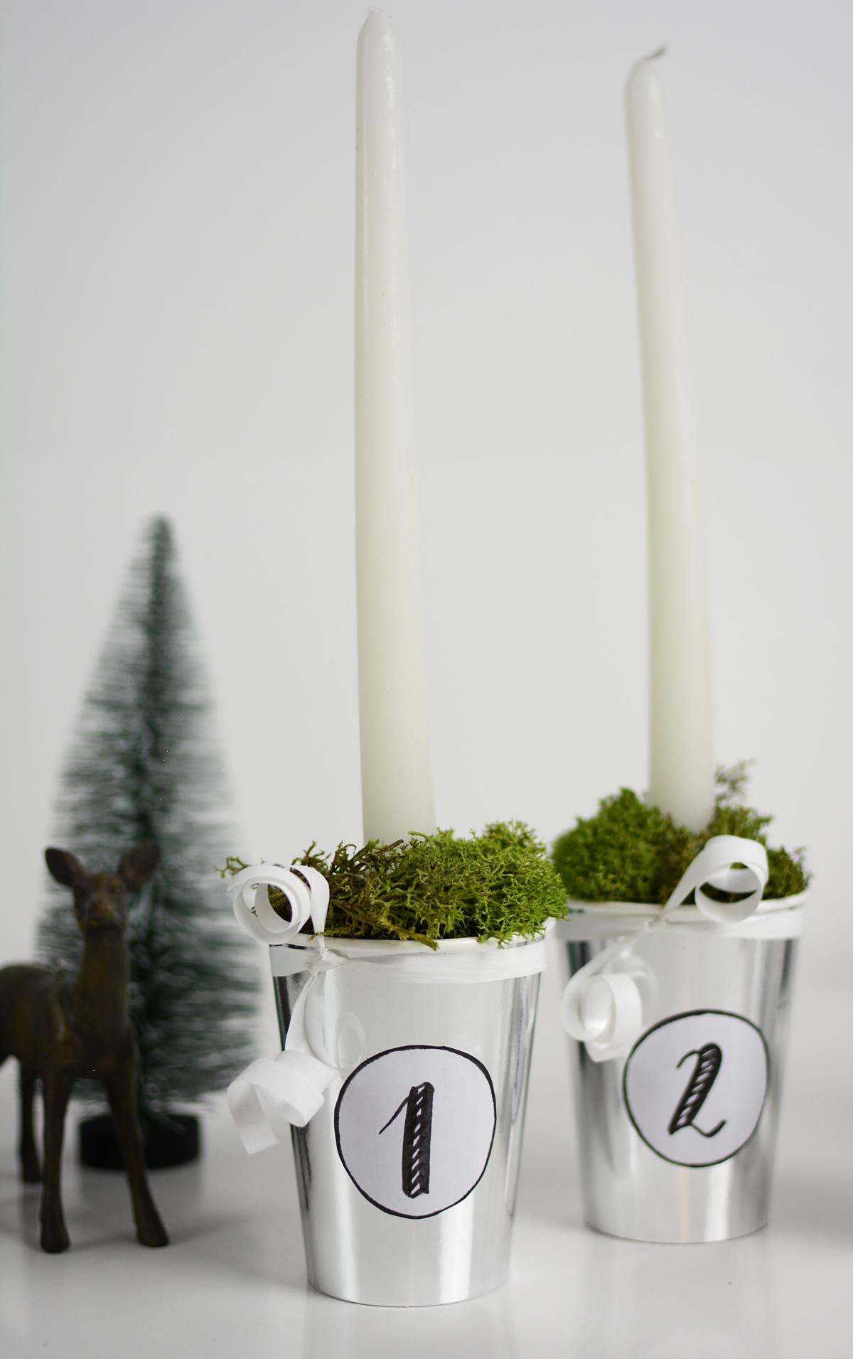 Skandinavischen Adventkranz Selbermachen | pixi mit milch