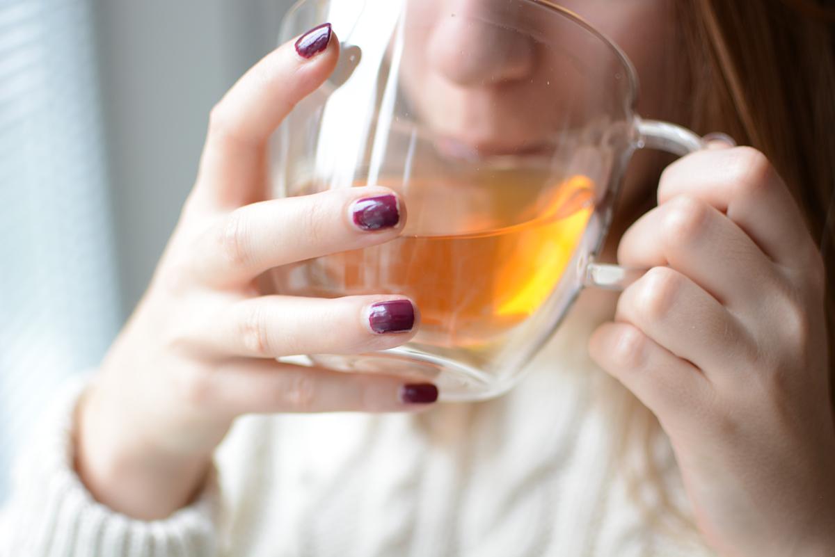 Tee trinken | pixi mit milch